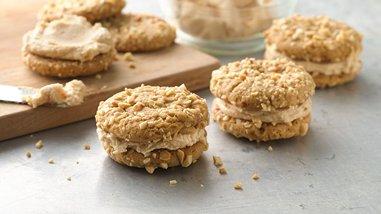 Salted Peanut Sandwich Cookies