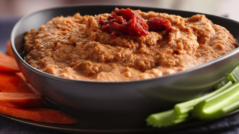 Fire Roasted Tomato Hummus