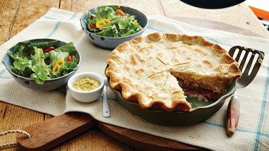 Reuben Pot Pie