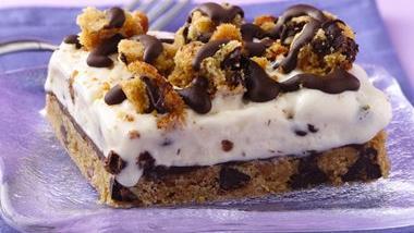 Chocolate Chip-Ice Cream Dessert