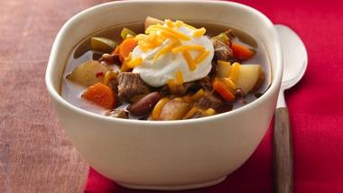 Spicy Chunky Beef Chili