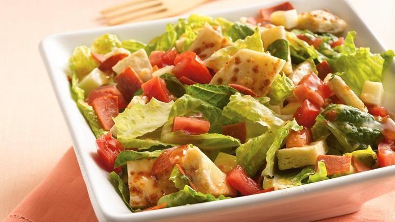 Pizza Bread Salad