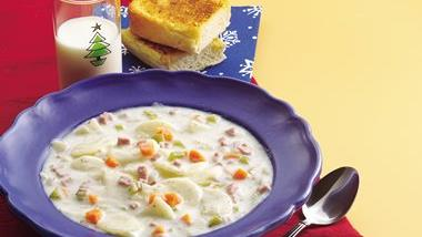 Creamy Ham and Potato Soup