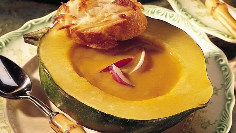 Squash and Lentil Bisque