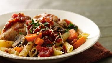 Slow-Cooker Rustic Italian Chicken (Cooking for Two)