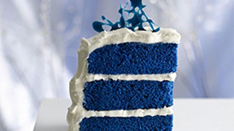 Betty Crocker Blue Velvet Cake