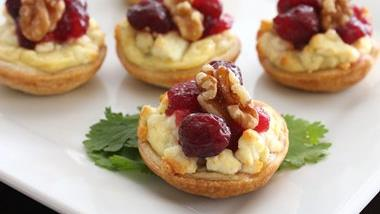Cranberry Blue Cheese Appetizers