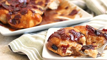 Brown Sugar-Bacon-Biscuit Bake