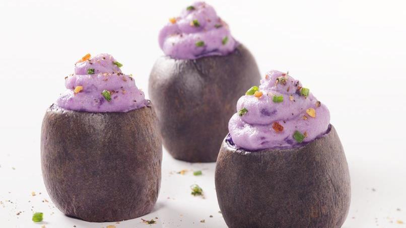 Purple Potato Bites