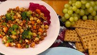 Heart Healthy Cookbook Wheat Berry Salad
