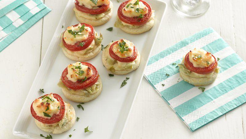 Tomato Artichoke Appetizers
