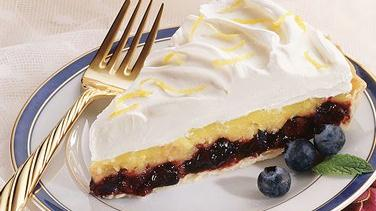 Pineapple-Blueberry Cream Tart