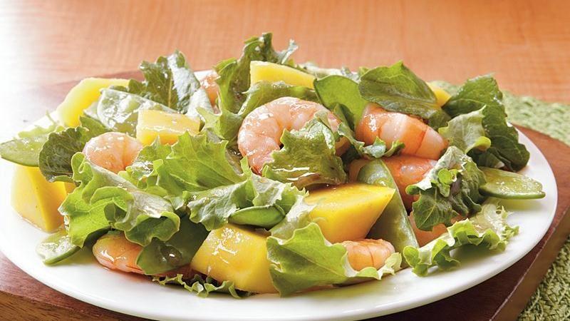 Mango-Shrimp Salad