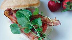Turkey, Bacon and Watercress Sandwich