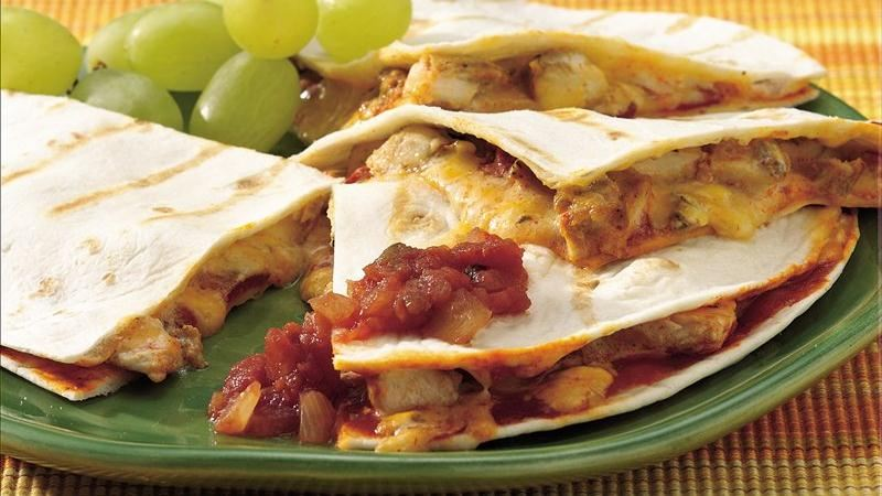 Grilled Enchilada Quesadillas