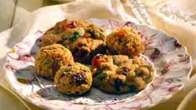 No-Bake Fruit Cookies