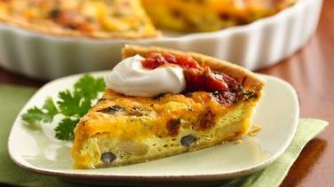 Southwest Breakfast Pie