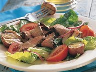 Grilled Steak and Potato Salad