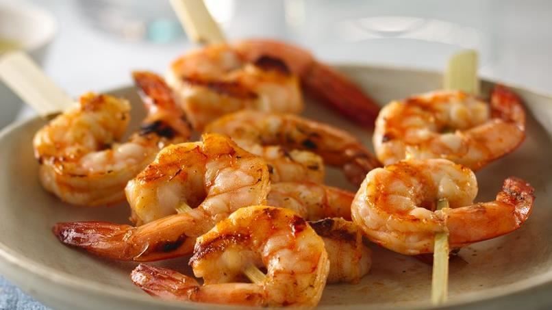 Spicy Grilled Shrimp