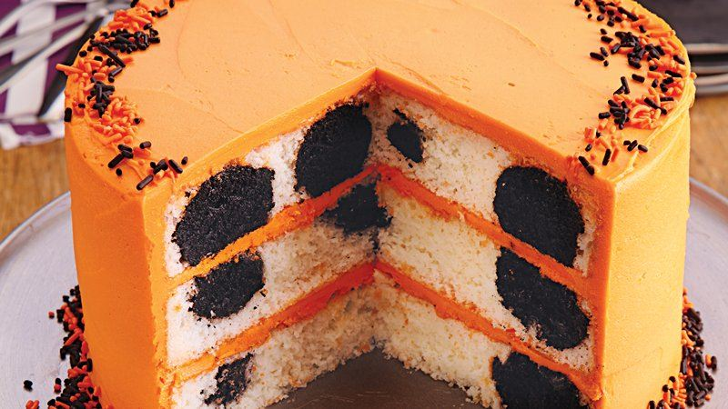 Halloween Surprise-Inside Cake