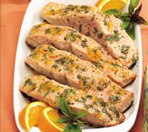 Citrus-Glazed Grilled Salmon