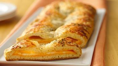Three-Cheese Crescent Slices