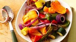 Verduras a la Parrilla con Jalapeños