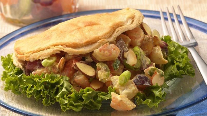 Shrimp Salad Pita-Wiches