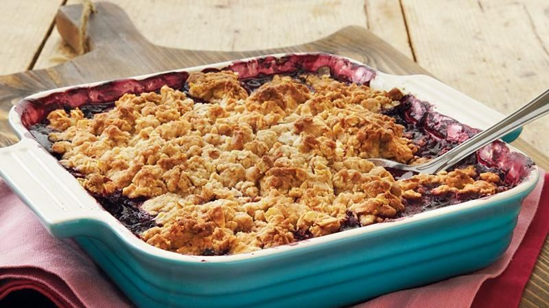 Berry-Almond Cobbler