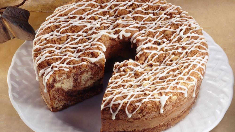 Streusel Spice Cake