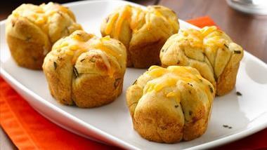 Cheesy Rosemary Monkey Bread Rolls