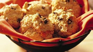Cinnamon-Raisin Biscuits
