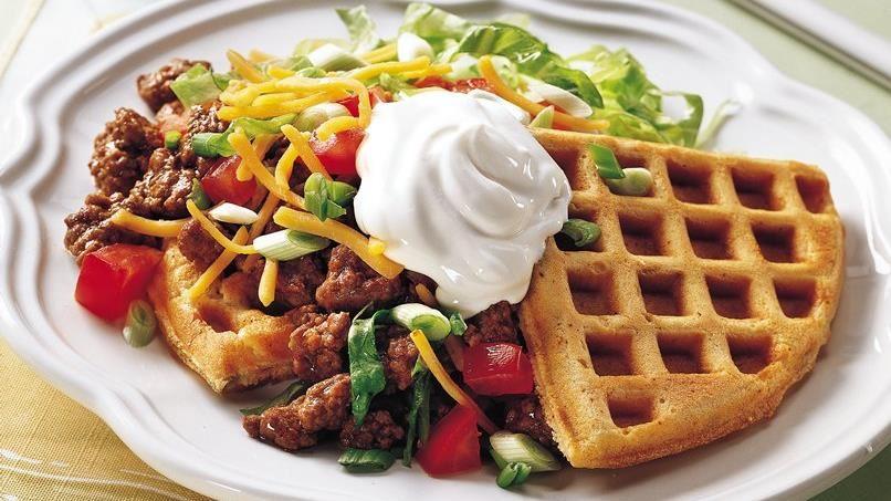 Tostada Waffles
