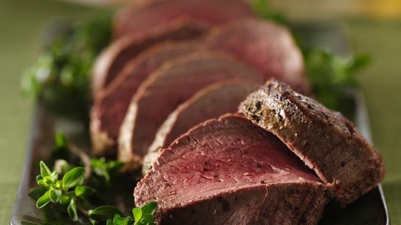 Herb Roasted Beef Tenderloin