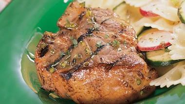 Lamb Chops With Jalapeno Jelly Glaze