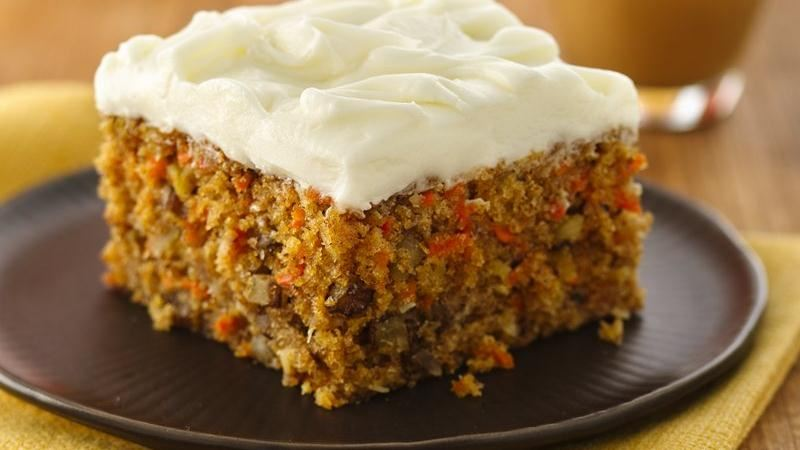 Carrot Cake (White Whole Wheat Flour) recipe from Betty Crocker