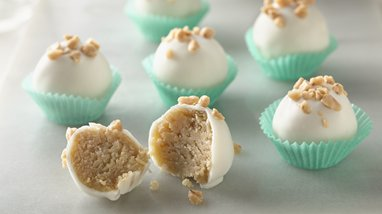 Salted Caramel Cookie Truffles