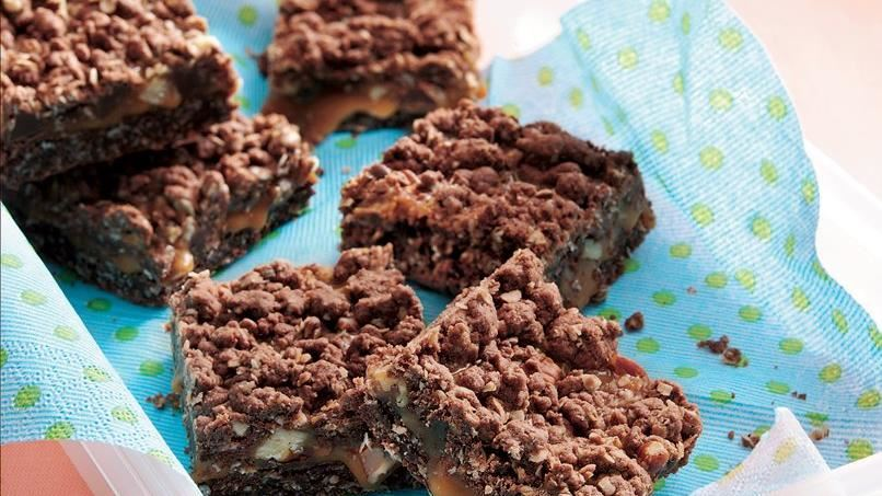 Chocolate-Caramel Bars