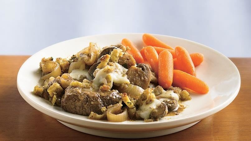 Slow-Cooker French Onion Beef