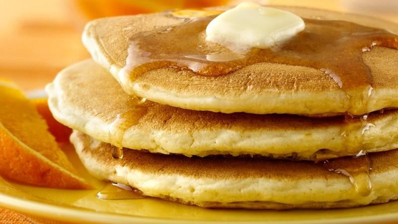 Pancakes recipe from Betty Crocker