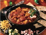 Three-Bean Holiday Chili