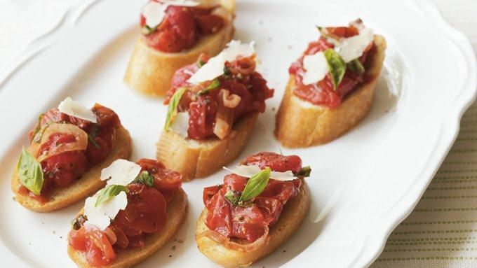 Roasted Tomato Bruschetta recipe - from Tablespoon!