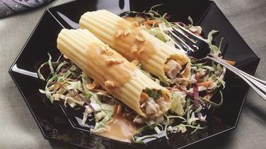 Oriental Chicken Manicotti Salad