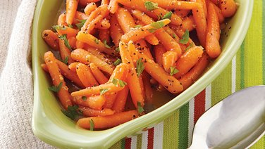 Bourbon-Glazed Carrots