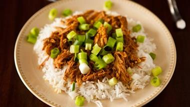 Slow-Cooker Bourbon Chicken