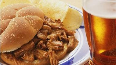 Slow-Cooked Barbecue Pork Sandwiches