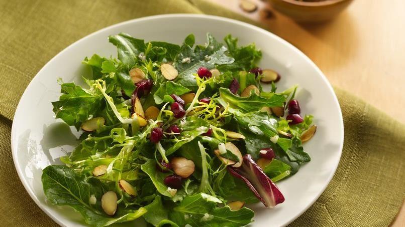 Pomegranate and Almond Salad