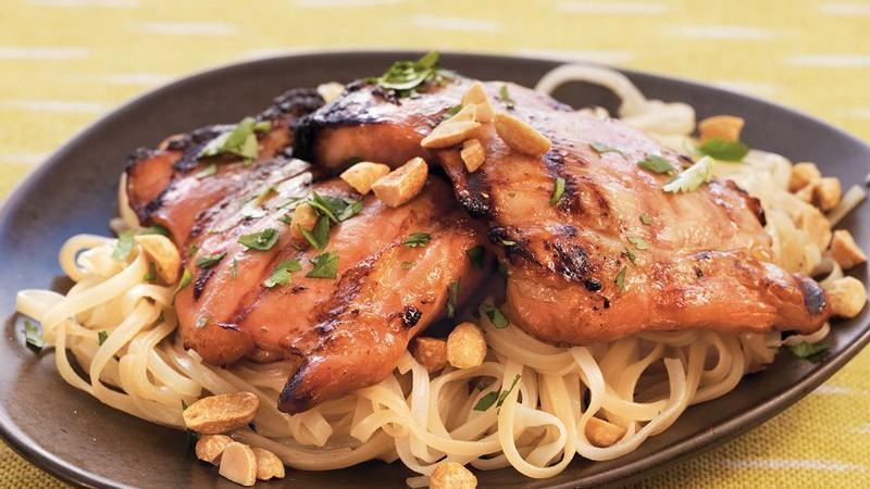 Thai-Marinated Chicken Thighs