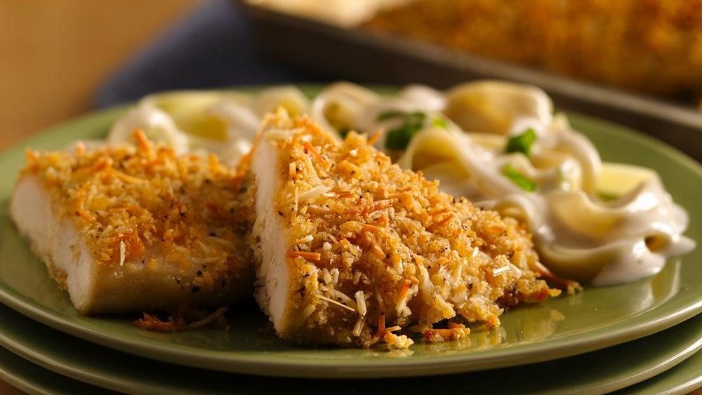 Crispy Garlic Parmesan Chicken