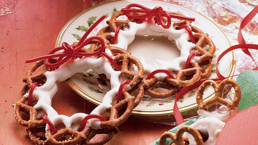 Katie´s Pretzel Wreaths